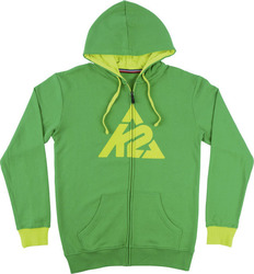 K2 Triangle Logo Full Zip Fern 10-70-13-005