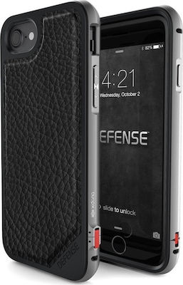 X-Doria Defense Lux Black Leather (iPhone 7)