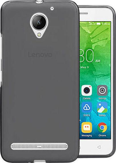 hot sale online 16541 6c1c6 Back Cover Σιλικόνης Μαύρο (Lenovo C2/C2 Power)