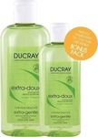 Ducray Extra-Gentle Dermo-Protective Shampoo 400ml + 200ml