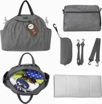 Smart Trike toTs Chic Changing Bag - Dark Grey Melange