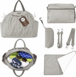 Smart Trike toTs Chic Changing Bag - Beige Mélange