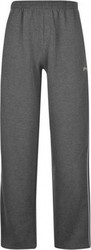 Slazenger Open Hem Fleece Pant 482011 Charcoal