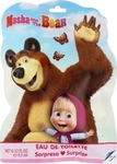Air-Val Masha And The Bear Eau de Toilette 9,5ml & Stickers & Bookmark