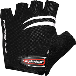 BICYCLE LINE RACING CHILDREN GLOVES Black Γάντια