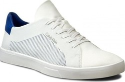 Calvin Klein Ion 2 Knit Weave Trainers F0848 White