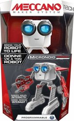 Meccano Micronoid Red Basher