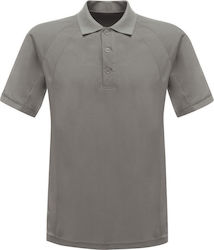 Unisex Μπλούζα Polo Coolweave Regatta Standout TRS147 - Silver Grey