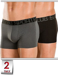 Minerva Sporties BAMBOO CLUB Boxer - Βαμβακερό - 2 Pack