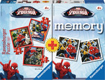 Memory & Puzzle: Ultimate Spiderman 25pcs (07359) Ravensburger