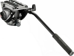 Manfrotto Lightweight Fluid Tripod Video Head With Flat Base MVH500AH Κεφαλή - Βίντεο