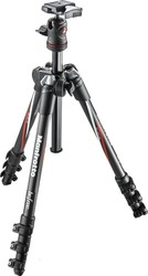 Manfrotto Befree Carbon Fiber Travel Tripod w/ Ball Head MKBFRC4-BH Τρίποδο - Φωτογραφικό