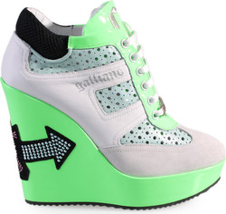 John Galliano 5637 White / Green