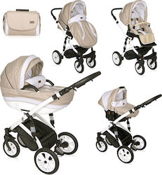 Lorelli Bertoni Mia 3 in 1 with Air Wheels 10021011912 Beige