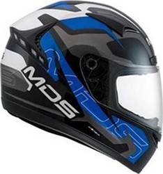 MDS M13 Combat Black/White/Blue