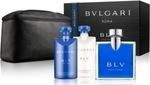 Bvlgari Blv Homme Eau de Toilette 100ml, After Shave Balm 75ml, Shower Gel 75ml & Pouch
