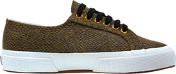 Superga 2750 Fabricreptiletexturew Brown S00BQR0-957