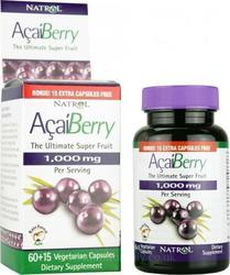 Natrol Acai Berry 1000mg 75 κάψουλες