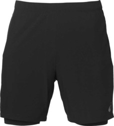 "Asics Race 2 In 1 7"" Shorts 141207-0904"
