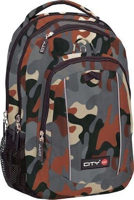 Lyc Sac City The Mag Grey Camo
