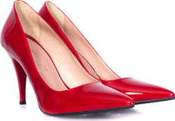 Stefania 710 Red Patent