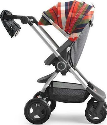 Stokke Winter Kit Scoot Flannel Red
