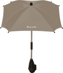 Lorelli Bertoni Baby Stroller Umbrella with UV Protection - Beige