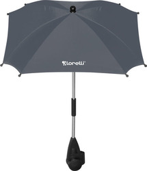 Lorelli Bertoni Baby Stroller Umbrella with UV Protection - Dark Grey