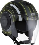 AGV Fluid Multi Chicago Matt Black/Yellow