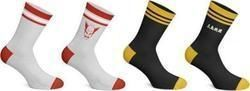 TEKKEN SOCKS (2 PAIRS: HEIHACHI MISHIMA & YOU WIN)