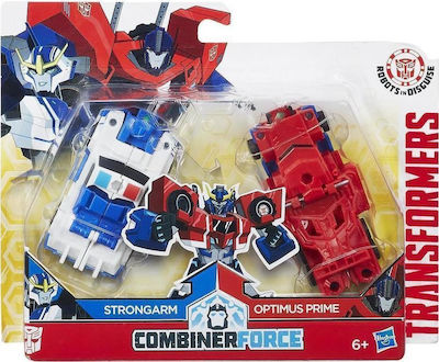 Hasbro Transformers: Robots In Disguise Crash Combiner Force - Strongarm & Optimus Prime