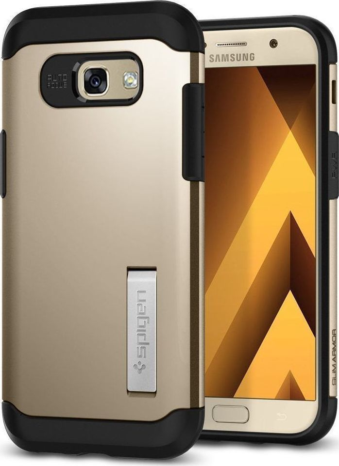 reputable site ab41b 79a21 Spigen Slim Armor Gold (Galaxy A5 2017)