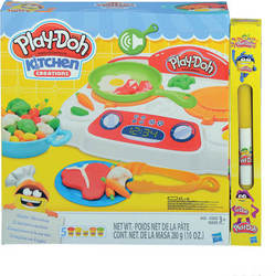 Λαμπάδα Play-Doh: Kitchen Creations - Sizzlin' Stovetop B9014 Hasbro