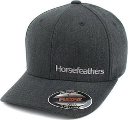 HORSEFEATHERS BECKETT CAP HEATHER BLACK