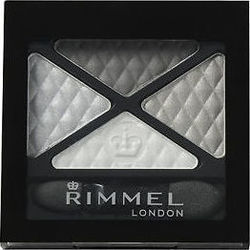 Rimmel Glam Eyes Quad Eye Shadow 001 Smokey Noir
