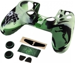 HAMA Silicone Case Camo Green/Black Dualshock & Accessory Pack PS4