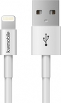 KW Regular USB to Lightning Cable Λευκό 1m (2114102)