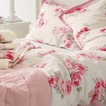 Laura Ashley Σετ Σεντόνια Υπέρδιπλα Couture Rose