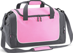 Quadra QS77 Teamwear Locker Bag Pink / Graphite Grey 30lt