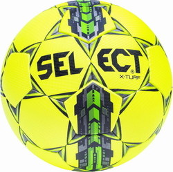 Select Sport X-Turf No 5 Yellow - Green 10568