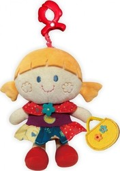 BabyMix String Toy with Clip: Girl
