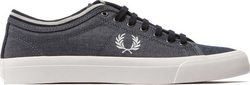 Fred Perry Kendrick Tipped Cuff B1152-608 Grey