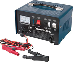 Silverline Battery Charger 12/24V (268317)
