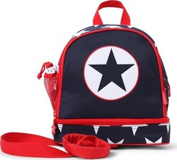 Penny Scallan Junior Backpack With Safety Rein - Navy Star PMRNAS