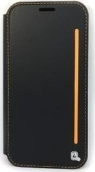 4Smarts Two-Tone Book Black/Orange (Galaxy A5 2017)