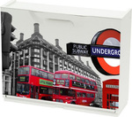 Παπουτσοθήκη Unika London Red Bus 51x17.3x41cm