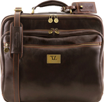 Tuscany Leather Varsavia TL141454 Dark Brown 44.5cm