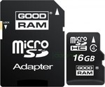 GoodRAM M40A microSDHC 16GB Class 4 with Adapter