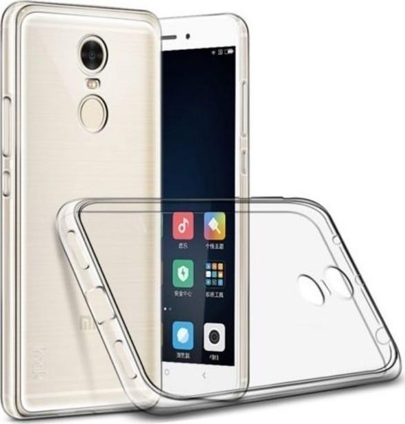 Back Cover Σιλικόνης Διάφανο (Xiaomi Redmi Note 4x)