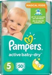 Pampers Active Baby Dry No 5 (11-18Kg) 50 τμχ